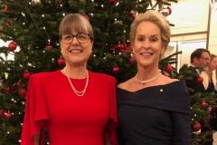 Donna Strickland and Frances Arnold