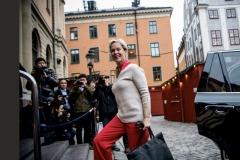 Frances in Stockholm, Dec 2018