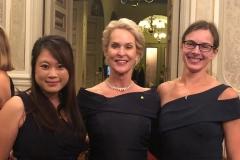 Arnold lab ladies dressed up to the nines